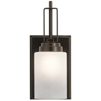 Kichler 45608MIZ Harvey 1 Light 5 inch Mission Bronze Wall Bracket Wall Light