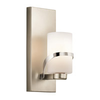 Kichler 45627PN Stelata 1 Light 5 inch Polished Nickel Wall Sconce Wall Light
