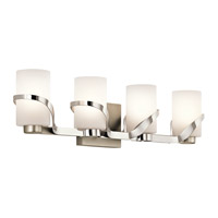 Stelata 4 Light 29 inch Polished Nickel Bath Light Wall Light