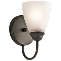 Kichler Jolie 1 Light Wall Sconce in Olde Bronze 45637OZ