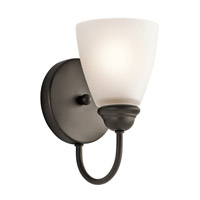 Kichler 45637OZL16 Jolie LED 5 inch Olde Bronze Wall Sconce Wall Light