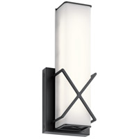 Kichler 45656MBKLED Trinsic LED 5 inch Matte Black Wall Sconce Wall Light
