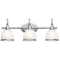 Rory 3 Light 24 inch Chrome Vanity Light Wall Light in LED, Dimmable
