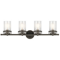 Kichler 45690OZ Brinley 4 Light 32 inch Olde Bronze Vanity Light Wall Light, 4 Arm