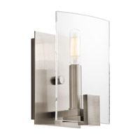 Kichler 45701CLP Signata 1 Light 6 inch Classic Pewter Wall Bracket Wall Light photo thumbnail