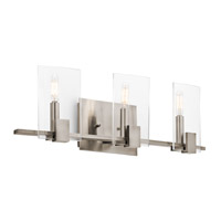 Kichler 45703CLP Signata 3 Light 24 inch Classic Pewter Bath Bracket Wall Light