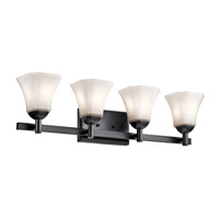 Serena 4 Light 31 inch Black Bath Light Wall Light