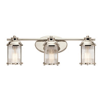 Ashland Bay 3 Light 24 inch Polished Nickel Vanity Light Wall Light