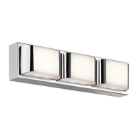 Kichler 45821CHLED Nita LED 18 inch Chrome Linear Bath Medium Wall Light