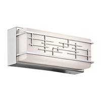 Kichler 45828CHLED Zolon LED 12 inch Chrome Linear Bath Medium Wall Light