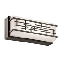 Kichler 45828OZLED Zolon LED 12 inch Olde Bronze Linear Bath Medium Wall Light