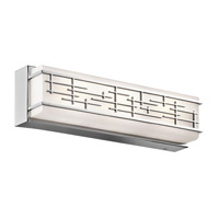 Kichler 45829CHLED Zolon LED 18 inch Chrome Linear Bath Medium Wall Light