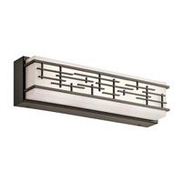 Kichler 45829OZLED Zolon LED 18 inch Olde Bronze Linear Bath Medium Wall Light