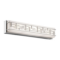 Zolon LED 24 inch Chrome Linear Bath Medium Wall Light