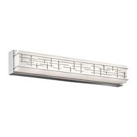 Kichler 45831CHLED Zolon LED 3 inch Chrome Linear Bath Large Wall Light