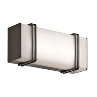 Impello LED 12 inch Olde Bronze Linear Bath Medium Wall Light