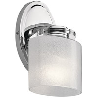 Kichler 45861CH Archer 1 Light 6 inch Chrome Wall Sconce Wall Light