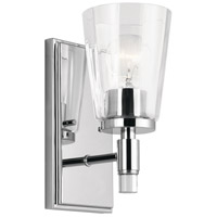 Kichler 45866CH Audrea 1 Light 5 inch Chrome Wall Bracket Wall Light