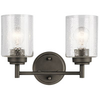 Winslow 2 Light 13 inch Olde Bronze Vanity Light Wall Light, 2 Arm