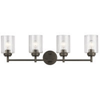 Kichler 45887OZ Winslow 4 Light 30 inch Olde Bronze Vanity Light Wall Light, 4 Arm