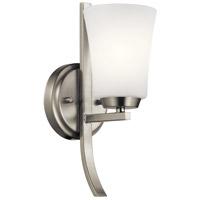 Kichler 45888NI Tao 1 Light 5 inch Brushed Nickel Wall Bracket Wall Light