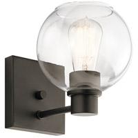 Kichler 45892OZ Harmony 1 Light 7 inch Olde Bronze Wall Bracket Wall Light