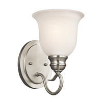 Tanglewood 1 Light 6 inch Brushed Nickel Bath Vanity Wall Light