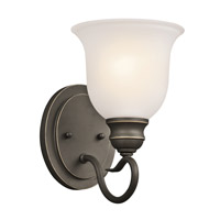 Kichler 45901OZ Tanglewood 1 Light 6 inch Olde Bronze Bath Vanity Wall Light photo thumbnail