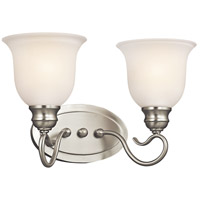 Kichler Lighting Tanglewood 2 Light Bath Vanity in Brushed Nickel 45902NI photo thumbnail