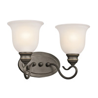 Kichler 45902OZL16 Tanglewood LED 15 inch Olde Bronze Vanity Light Wall Light