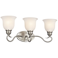 Kichler Lighting Tanglewood 3 Light Bath Vanity in Brushed Nickel 45903NI photo thumbnail