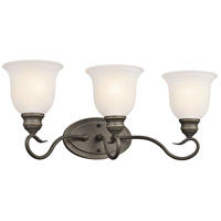 Kichler 45903OZ Tanglewood 3 Light 23 inch Olde Bronze Bath Vanity Wall Light photo thumbnail