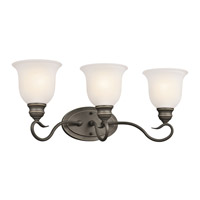 Kichler 45903OZL16 Tanglewood LED 23 inch Olde Bronze Vanity Light Wall Light