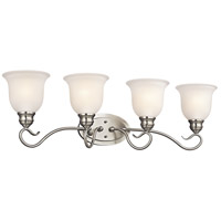 Kichler Lighting Tanglewood 4 Light Bath Vanity in Brushed Nickel 45904NI