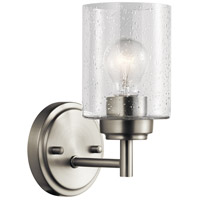 Winslow 1 Light 5 inch Brushed Nickel Wall Bracket Wall Light