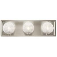 Kichler 45918NI Karia 3 Light 21 inch Brushed Nickel Vanity Light Wall Light