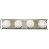 Kichler 45919NI Karia 4 Light 29 inch Brushed Nickel Vanity Light Wall Light, 3 Arm