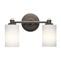 Joelson 2 Light 14 inch Olde Bronze Vanity Light Wall Light in Standard