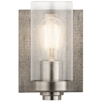 Kichler 45926CLP Dalwood 1 Light 6 inch Classic Pewter Wall Sconce Wall Light