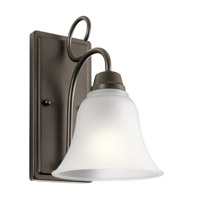 Kichler 45938OZ Bixler 1 Light 7 inch Olde Bronze Wall Sconce Wall Light in Standard