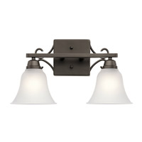 Kichler 45939OZ Bixler 2 Light 17 inch Olde Bronze Vanity Light Wall Light in Standard