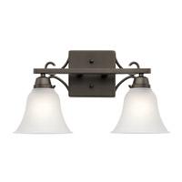 Kichler 45939OZ Bixler 2 Light 17 inch Olde Bronze Vanity Light Wall Light in Standard