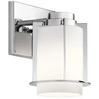 Kichler 45946CH Chagrin 1 Light 6 inch Chrome Wall Sconce Wall Light alternative photo thumbnail
