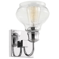 Schoolhouse 1 Light 6 inch Chrome Wall Bracket Wall Light