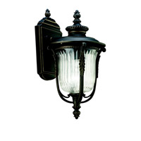 Kichler Lighting Luverne 1 Light Outdoor Wall Lantern in Rubbed Bronze 49001RZ photo thumbnail