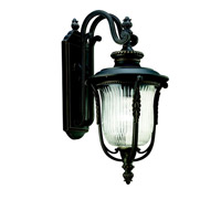 Kichler Lighting Luverne 1 Light Outdoor Wall Lantern in Rubbed Bronze 49002RZ photo thumbnail