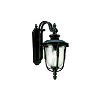 Kichler Lighting Luverne 1 Light Outdoor Wall Lantern in Rubbed Bronze 49003RZ photo thumbnail
