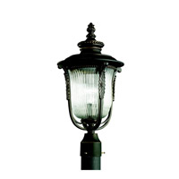 Kichler Lighting Luverne 1 Light Outdoor Post Lantern in Rubbed Bronze 49004RZ photo thumbnail