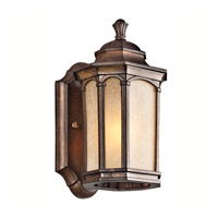 Kichler Lighting Duquesne 1 Light Outdoor Wall Lantern in Brown Stone 49029BST
