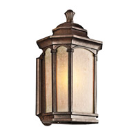 Kichler Lighting Duquesne 1 Light Outdoor Wall Lantern in Brown Stone 49032BST